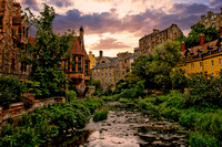 Dean Village Morning