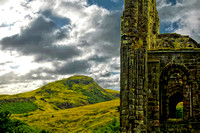Holyrood Ruins and Arthur's Seat